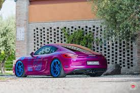 purple porsche boxster purple porsche cayman is a show stopper on custom painted blue