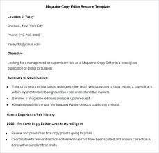 copy editor resume sle copy editor resume sle magazine copy editor resume
