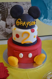 25 mickey mouse birthday cake ideas