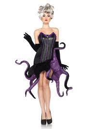 2 Pc Black Purple Ursula Costume Amiclubwear Costume Online