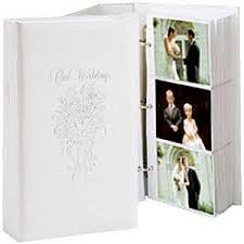 large photo albums 4x6 our wedding 3 ring pocket embossed white proof book for up to 300