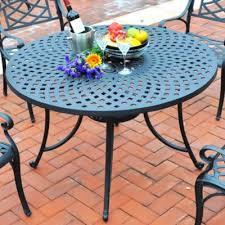 Aluminum Dining Room Chairs Sedona Cast Aluminum High Back Patio Dining Set Improvements Catalog