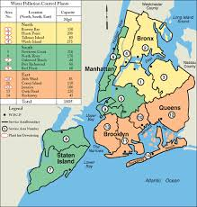 york city on map map of plant locations and capacities
