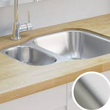 Kitchen Sinks Metal  Ceramic Kitchen Sinks DIY At BQ - Compact kitchen sinks stainless steel