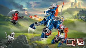 clay wallpapers activities nexo knights lego com 70312 lance s mecha horse