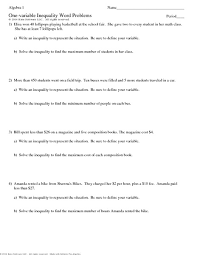 best solutions of linear equations in one variable word problems