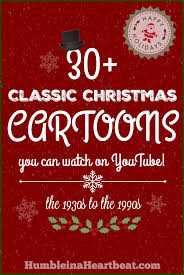 30 classic christmas cartoons you can watch on youtube humble