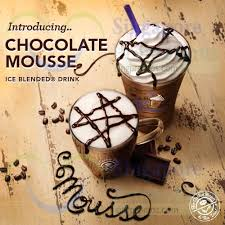Coffee Bean Blended coffee bean tea leaf new chocolate mousse blended beverages 16