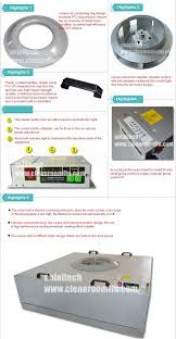 low noise ffu fan filter unit for dust free room clean room buy