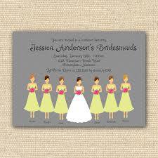 bridesmaids invitations photo bridesmaid luncheon invitation sayings bridesmaids image