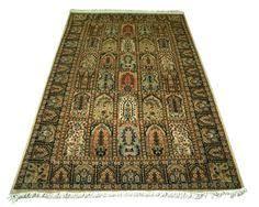Wool Indian Rugs Kashmir Persian Hand Made Rug Carpet Runner Cashmere Wool Indian
