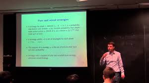lecture 25 computational game theory youtube