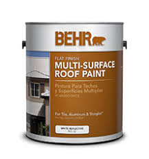 multi surface roof paints for your project behr
