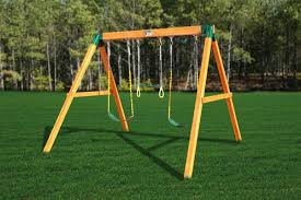 Backyard Swing Set Ideas Kid Swing Sets Compact Gallery Of Backyard Playground Kids Wooden