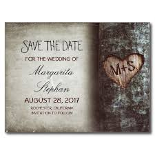 rustic save the dates save the date postcards wedding save the date ladyprints
