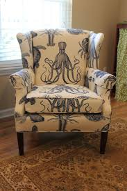 furniture wingback chairs ideas with wooden flooring and white
