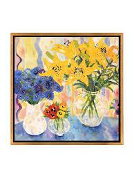 Modern Flower Vase Modern Flower Vase Print Wall Painting 12802 2 Jpg