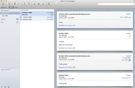 how to layout a email mail back to the mac os x 10 7 lion review