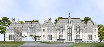 Chateauesque House Plans Abby Glen Castle House Plan 2 Story 4458 Square Foot 5 Bedroom