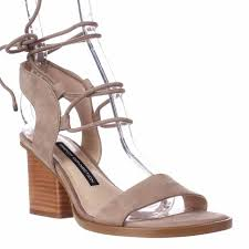 connection jalena lace up ankle strap sandals earth earth