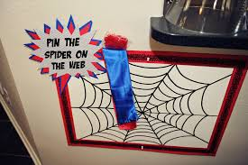 party wall spiderman birthday party 3 games activities
