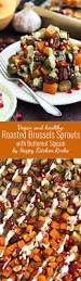 butternut squash recipe for thanksgiving roasted brussels sprouts with butternut squash u2022 happy kitchen rocks
