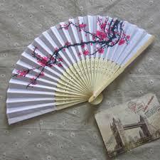 japanese folding fan folding fan japanese cherry blossom design silk