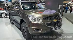 chevrolet trailblazer 2015 chevrolet trailblazer urban package showcased in thailand