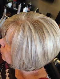 silver hair with low lights highlight and lowlight through natural gray golden blonde