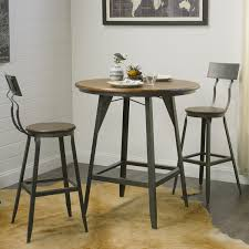 Indoor Bistro Table And Chair Set Bar Stools 5 Piece Counter Height Dining Set Bistro Table Set