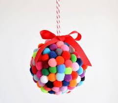 the pom pom ornament craft that never ends styrofoam diy