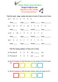 averages and range worksheet by floppityboppit teaching