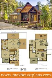 cottage design small cabin home plan with open living floor plan open floor