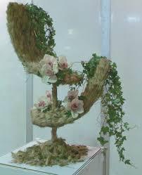 Wall Sconce Floral Arrangements Home Decor Home Decor Unusual Floral Arrangements Arts And
