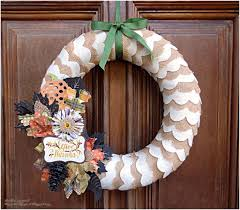 top 10 diy thanksgiving wreaths top inspired
