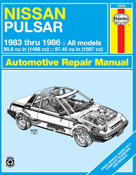 nissan pulsar 1983 nissan pulsar 83 86 haynes repair manual haynes manuals