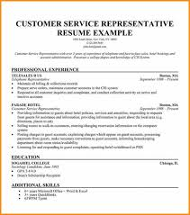 Objective In Resume For Customer Service Representative 8 Customer Service Resume Objective Cote Divoire Tennis