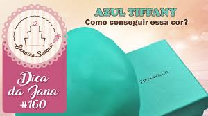 Common Dica da Jana #160 Azul Tiffany Por Janaina Suconic - YouTube #VO64