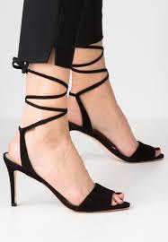 women sandals loeffler randall elyse high heeled sandals black