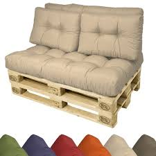 Diy Couch Cushions 2 Set Back Pads Pallet Cushions 60x40x10 20cm Diy Sofa Pillows For