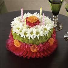 happiest birthday flower cake hattie anne u0027s flower garden