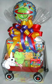 customized gift baskets birthday wagon gift basket for boys and