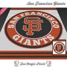 san francisco giants c2c graph crochet twomagicpixels