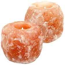 himalayan salt l amazon amazon com greenco himalayan crystal salt tealight candle holder 2