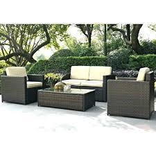 plastic wicker patio furniture wicker patio furniture sets clearance