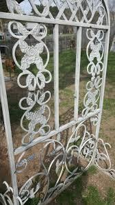 cast iron garden trellis home outdoor decoration