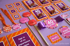 40th Bday Decorations 40th Birthday Party Ideas Backyard Table Decorating Ideas