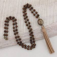 wood beads necklace designs images Stylish and fun fashion jewelry in different styles colors jpg