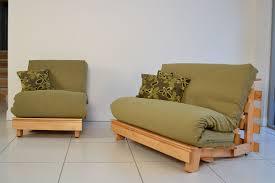 Single Pine Futon Sofa Bed With Mattress Futon Chair Mattress Amazing Design For Futon Chair