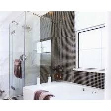 Porcelain Tile For Bathroom Shower Wholesale Porcelain Tile Mosaic Black Square Surface Tiles